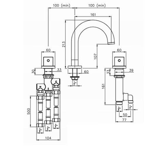 Technical drawing QS-V79789 / AB3001