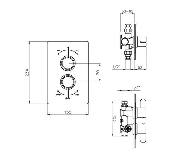 Technical drawing QS-V79791 / AB2226