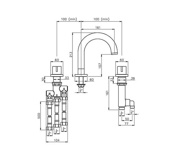 Technical drawing QS-V79796 / AB3002