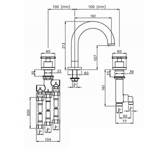 Technical drawing QS-V79797 / AB3003