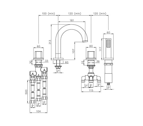 Technical drawing QS-V79818 / AB3026