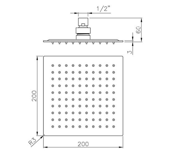 Technical drawing QS-V79824 / AB2465