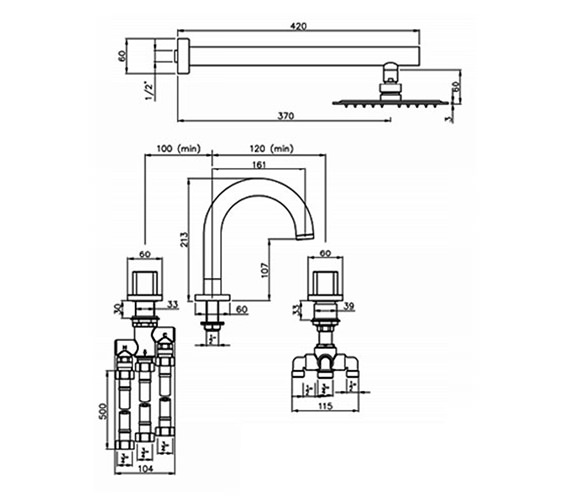 Technical drawing QS-V79843 / AB3066