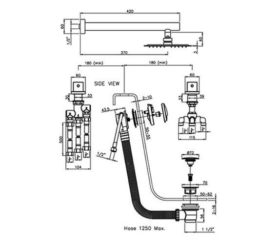 Technical drawing QS-V79846 / AB3081