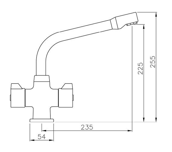 Technical drawing QS-V79853 / AT1008