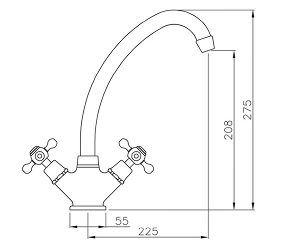 Technical drawing QS-V79855 / AT1016