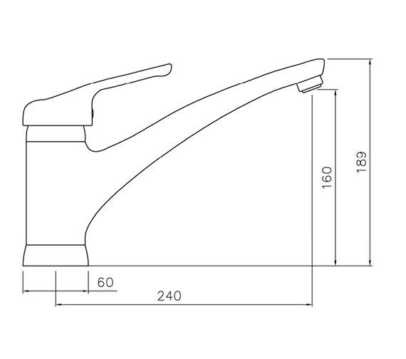 Technical drawing QS-V79858 / AT1077