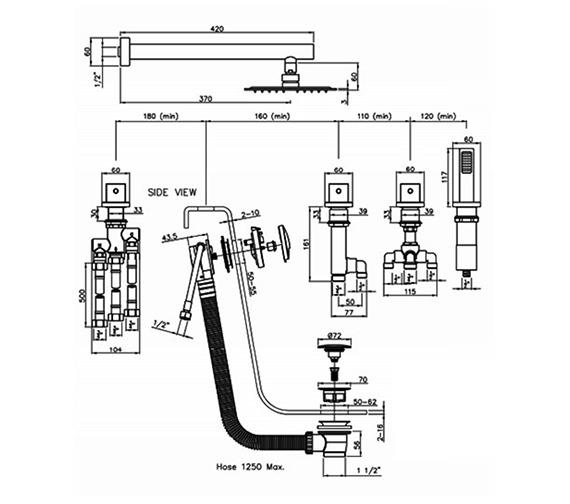 Technical drawing QS-V79859 / AB3101