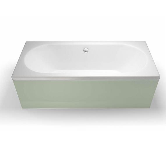 Britton Cleargreen Verde 1700 x 700mm Double Ended Bath