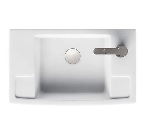 Britton Aqua Cabinets Deep Cloakroom Right Handed Ceramic Basin