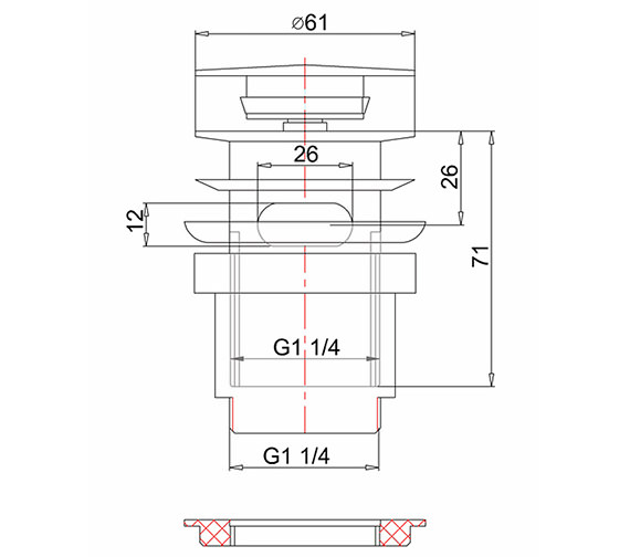 Technical drawing QS-V8152 / W11