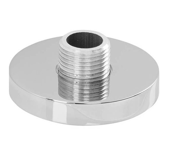 Abode Circular Deck Mounted Chrome Shower Outlet - AB2462