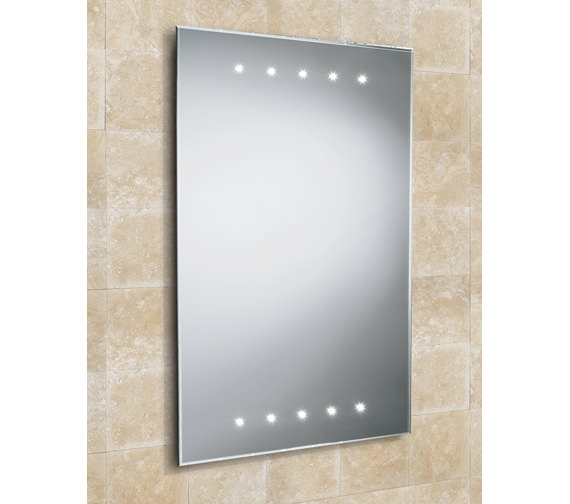 HIB Duna LED Bathroom Mirror 500 x 700mm - 73104195