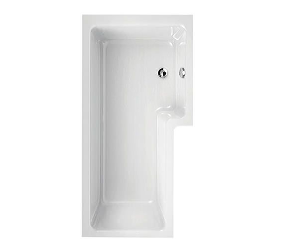 Aquaestil Thames 1700 x 700mm Right Hand Shower Bath - 154THAMESRH