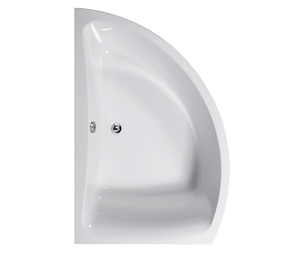 Aquaestil Comet 1500 x 1000mm Left Hand Corner Bath - 154COMETLH