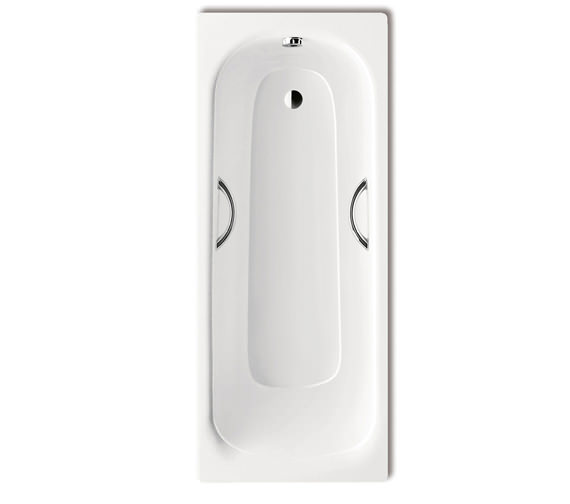 Kaldewei Saniform 1700 x 700mm Plus Star 335 Steel Bath With Grip Holes