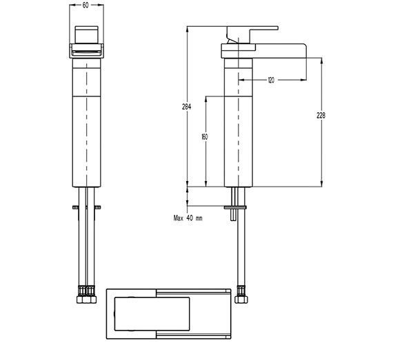 Technical drawing QS-V9999008 / WS112DNC