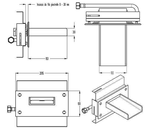 Technical drawing QS-V9999013 / WS0370WC