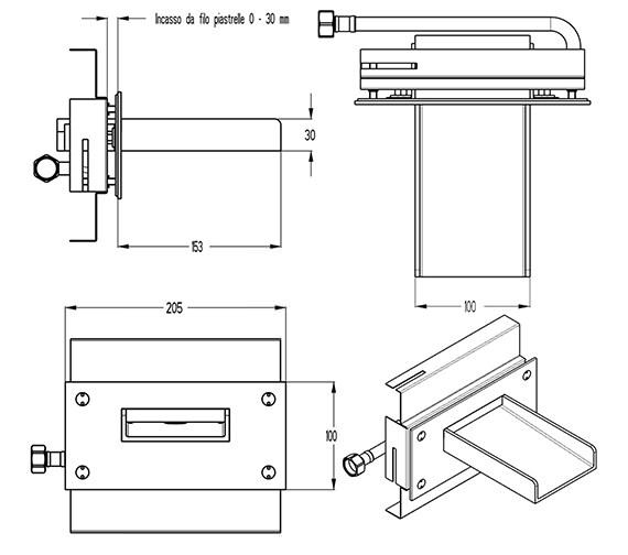 Technical drawing QS-V9999013 / WS0370WC