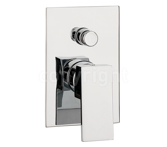 Crosswater Water Square Manual Recessed Shower Valve With Diverter