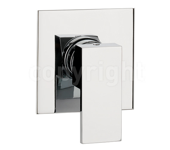 Crosswater Water Square Manual Recessed Shower Valve - WS0004RC