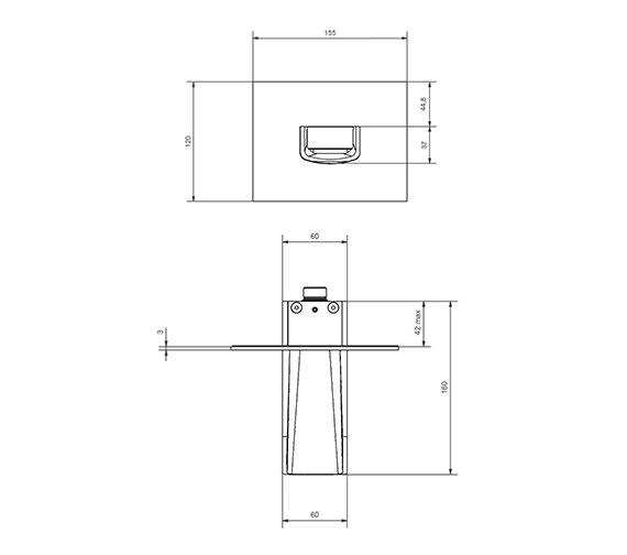 Technical drawing QS-V9999025 / LM0370WC