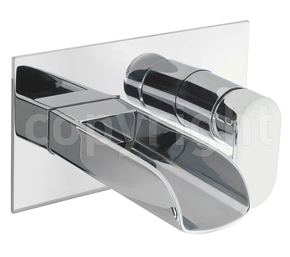 Crosswater Love Me Wall Mounted 2 Hole Basin Tap - LM121WC