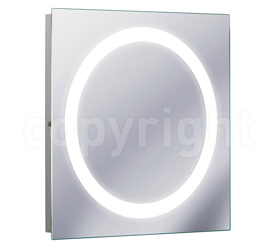 Bauhaus Edge Illuminated Mirror 550 x 550mm - MF5555A