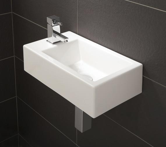 HIB Rialto Metro Cloakroom Basin 440 x 250mm - 9770