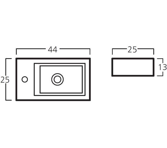 Technical drawing QS-V999943 / 9770