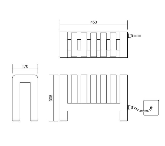 Technical drawing QS-V999984 / IN003