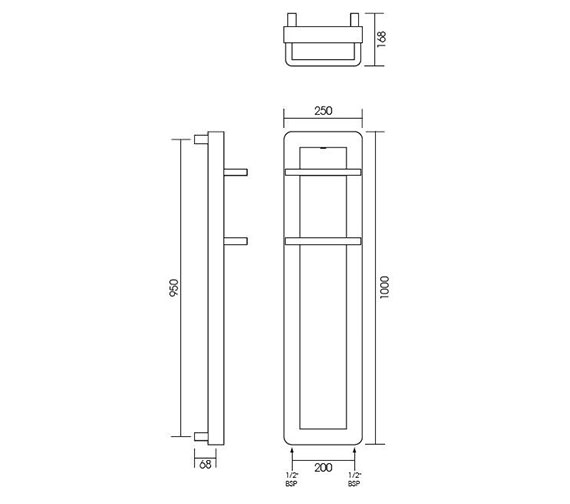 Technical drawing QS-V999987 / IN008