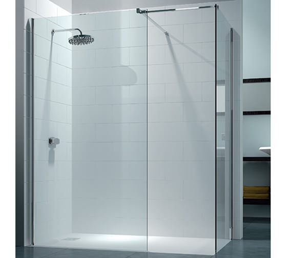 Merlyn 8 Series Walk In Enclosure With End Panel 1200 x 900mm - M80241