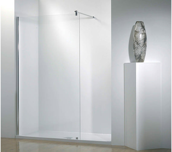 Ultimate 1500mm RH Walk-In-Recess Shower Enclosure With Tray And Waste