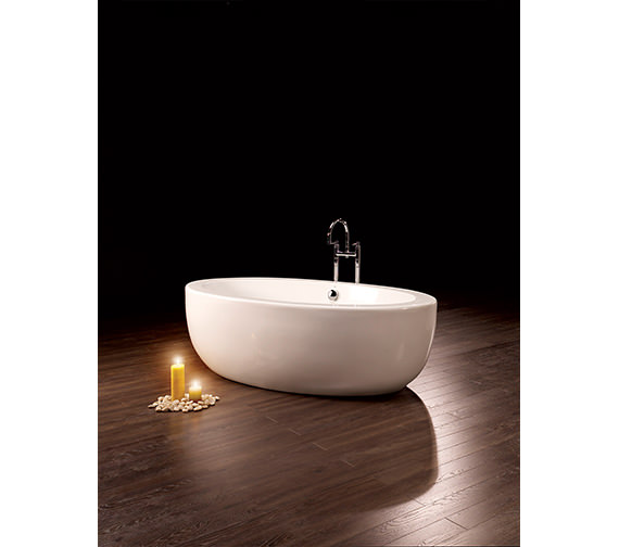 Royce Morgan Westminster Double Ended Freestanding Bath 1860 x 880mm