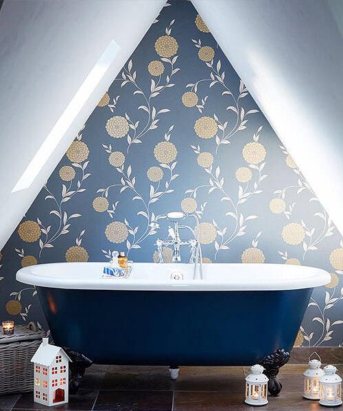 Wallpaper Ideas To Help Transform Your Bathroom
